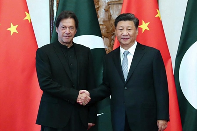 Xi meets Pakistani PM, calls for forging closer community of shared future